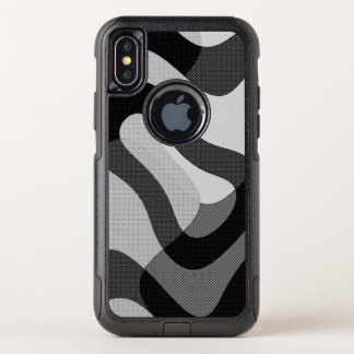 abstrakt OtterBox commuter iPhone x hülle