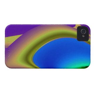 abstrakt regenbogen iPhone 4 hülle
