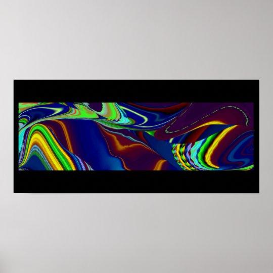 abstrakt regenbogen poster