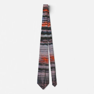 Abstrakt (Spalt) Bedruckte Krawatte