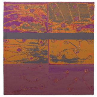 abstrakt stoffserviette