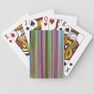 Abstrakt vom Hoh Regen-Wald an Dämmerung | Spielkarten