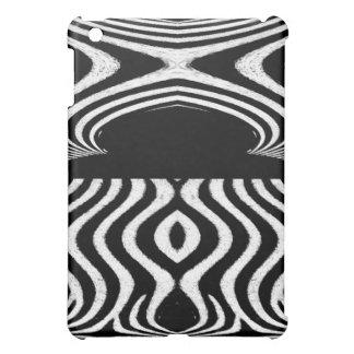 Abstrakt vom Zebra-Tierentwurf iPad Mini Hülle