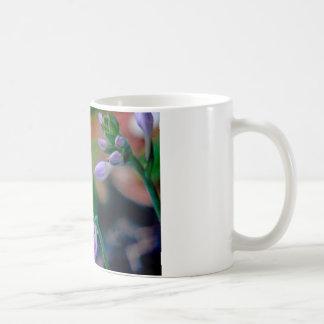 ABSTRAKT VON DEN BLUMENknospen Kaffeetasse