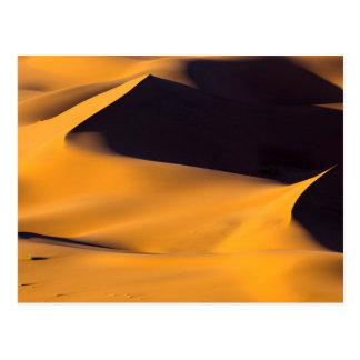 Abstrakt von der Sanddüne Postkarte