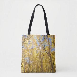 Abstrakt von Gilia unter Wildblumen | Kalifornien Tasche