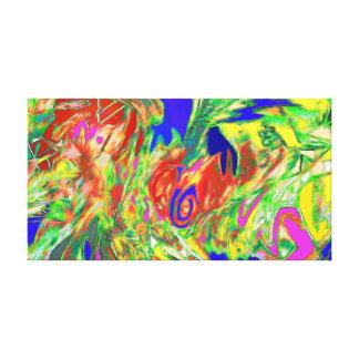 Abstrakte 2 leinwanddruck