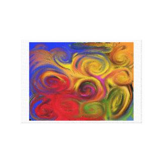 Abstrakte 3 leinwanddruck