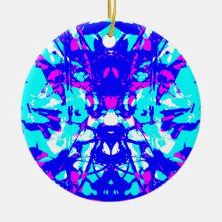 Abstrakte 5 keramik ornament
