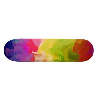 Abstrakte abstrakte Kunst 7 der Malerei-| Personalisierte Skateboarddecks