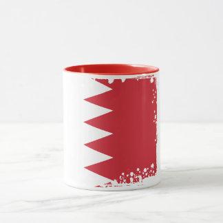 Abstrakte Bahrain-Flaggen-Tasse Tasse
