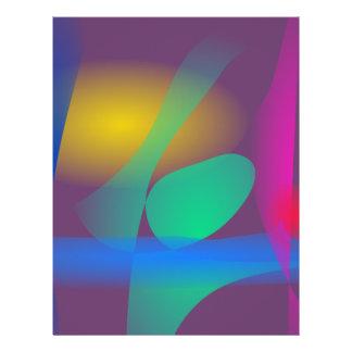Abstrakte Balance Flyer