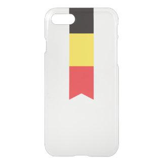 Abstrakte Belgien-Flagge, belgischer iPhone 8/7 Hülle