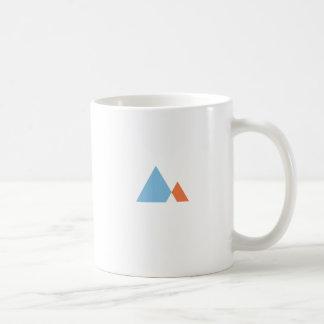 Abstrakte Berge Kaffeetasse