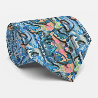 Abstrakte Bild-Wahl-Gewohnheits-Krawatten der Bedruckte Krawatten