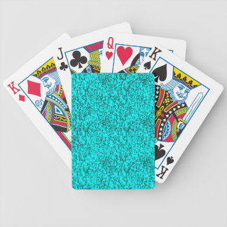 abstrakte Blues Bicycle Spielkarten