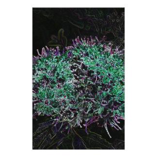 Abstrakte Blume