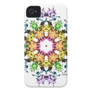 Abstrakte Blume iPhone 4 Hüllen