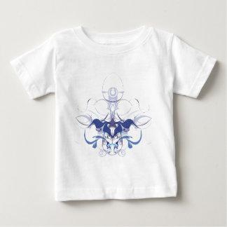 Abstrakte Blumenelemente Baby T-shirt