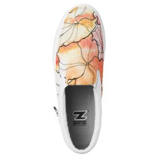 abstrakte Blumenschuhe Slip-On Sneaker