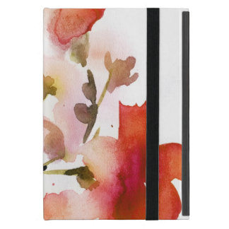 Abstrakte Blumenwatercolormalereien Schutzhülle Fürs iPad Mini