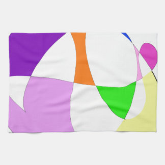 Abstrakte bunte Ballone Handtuch