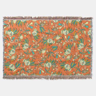 Abstrakte bunte Hand gezeichneter Decke