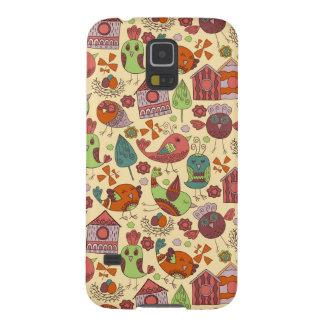 Abstrakte bunte Hand gezeichneter Hülle Fürs Galaxy S5