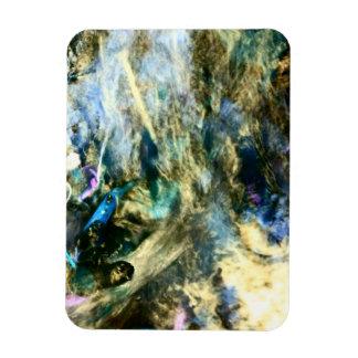 Abstrakte bunte kunstvolle Fotografie Magnet
