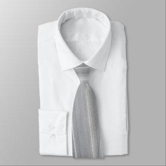 Abstrakte Bürste-Anschläge in hellgrauem Krawatte