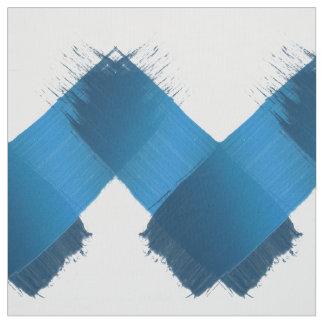 Abstrakte Bürste streicht geometrisches Muster Stoff