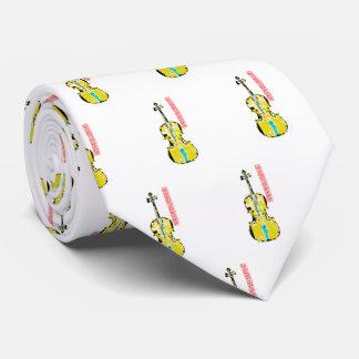 Abstrakte Cello-Kunst-Krawatte Personalisierte Krawatten