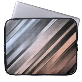 Abstrakte diagonale Linien Laptopschutzhülle