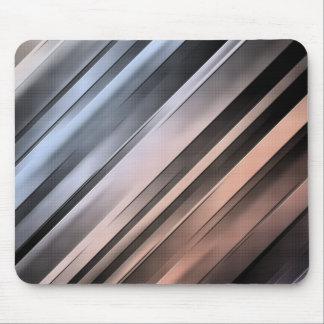 Abstrakte diagonale Linien Mousepad