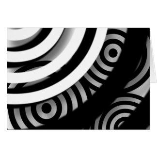 Abstrakte Digital-Kunst-Raum-Anmerkungs-Karte Karte