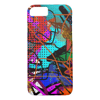 abstrakte digitale Kunst iPhone 8/7 Hülle