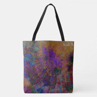 Abstrakte Druck-Tasche Tasche
