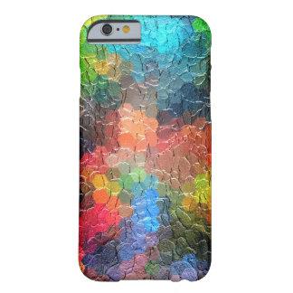 Abstrakte dynamische Farben der Malerei-  Barely There iPhone 6 Hülle