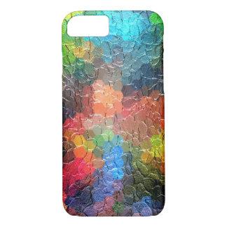 Abstrakte dynamische Farben der Malerei-  iPhone 7 Hülle