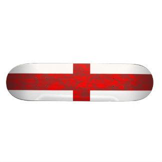 Abstrakte England-Flagge Skateboardbretter