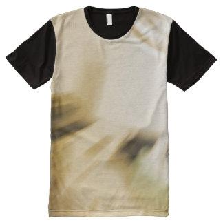 Abstrakte Erdtöne T-Shirt Mit Komplett Bedruckbarer Vorderseite