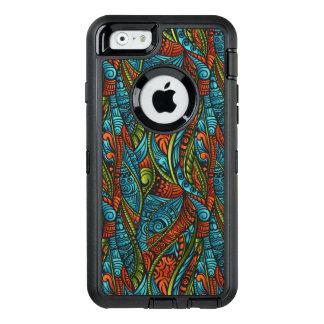 Abstrakte ethnische Tapete OtterBox iPhone 6/6s Hülle