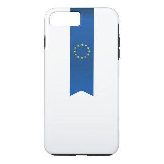 Abstrakte europäische Flagge, Europa-Band iPhone 8 Plus/7 Plus Hülle