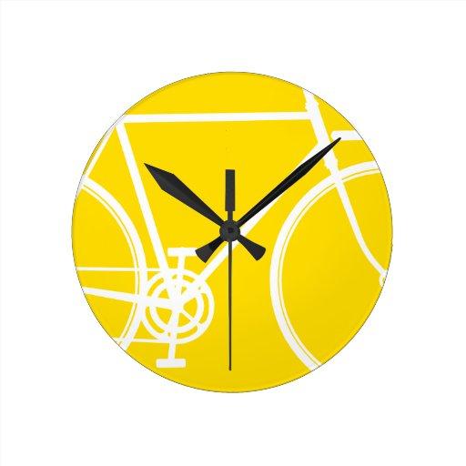 Abstrakte Fahrrad-Wand-Uhr