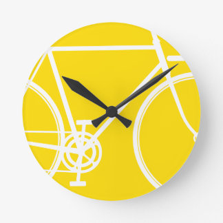 Abstrakte Fahrrad-Wand-Uhr Wanduhr