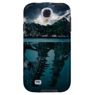 Abstrakte Fantasie-künstlerische Insel Galaxy S4 Hülle