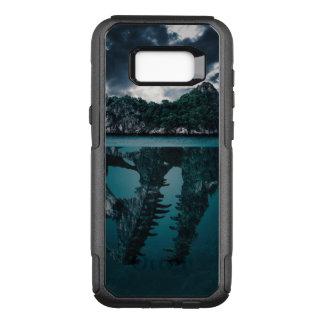 Abstrakte Fantasie-künstlerische Insel OtterBox Commuter Samsung Galaxy S8+ Hülle