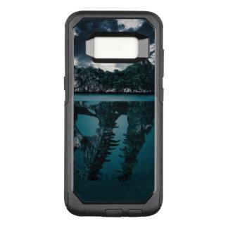 Abstrakte Fantasie-künstlerische Insel OtterBox Commuter Samsung Galaxy S8 Hülle