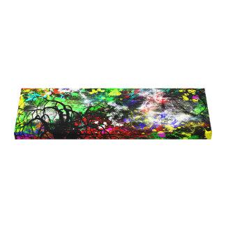 Abstrakte Farbe Leinwanddruck
