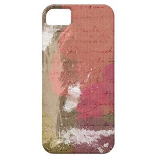 Abstrakte Farbe Splats in den Herbst-Farben Etui Fürs iPhone 5